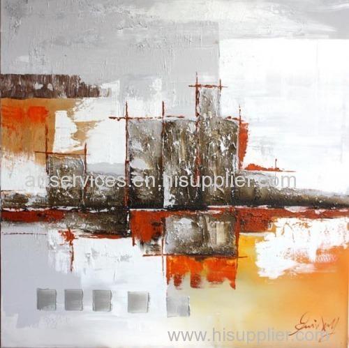 Single panel art painting