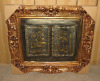 archaistic painting photo frame