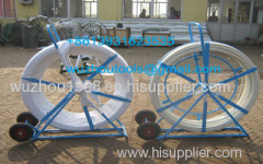 HDPE duct rod Reels for continuous duct rods