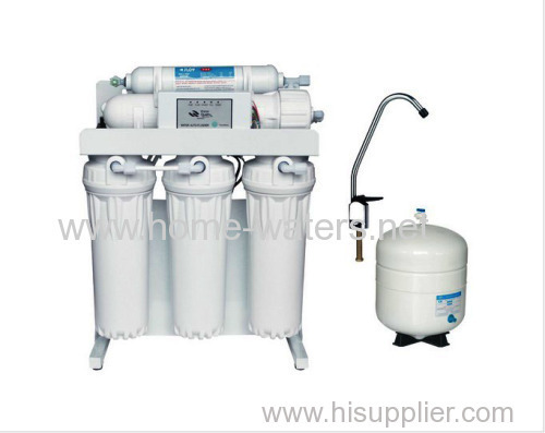 Under sink ro water filter purifiers with steel stand