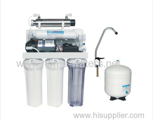 7 stage under sink ro water filter purifiers