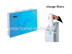 New counter top home Ro water filter purifier