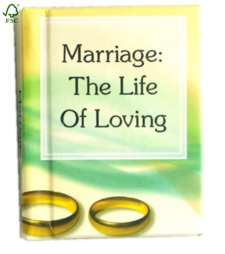 UV coating marriage hardcover notebook