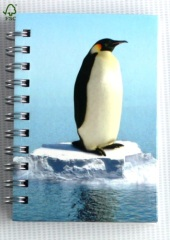 natral animal world hardcover notebooks