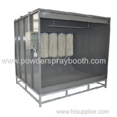 powder coating booths factory