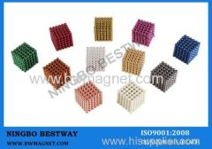 D5mm 216pcs/set Colorful Buckyballs