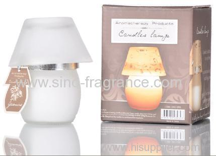 small lamps scented candle
