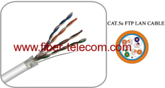 F / UTP 4Pairs cable category5E PVC Sheath