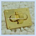 55*15mm Bag Lock mortise lock handbag hardware bag lock locks for leather handbag