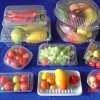 Clear plastic fruits packaging box