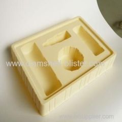 Plastic cavity packaging tray for cosmetic