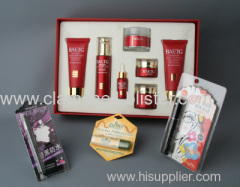 Plastic cosmetic blister packaging