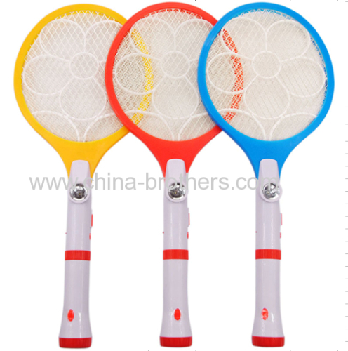 Rechargeable Mosquito Killer Racket with LED Torch