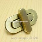 Gold lock handbag hardware bag lock Zinc alloy Lock