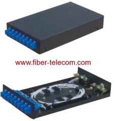 Material fiber optic distribution box