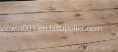 knotty oak veneer