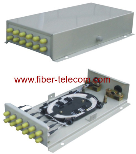 Fiber Optic Wall Mounted Terminal Box 12 cores