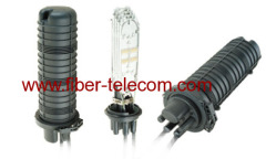 Outdoor fiber splice closure