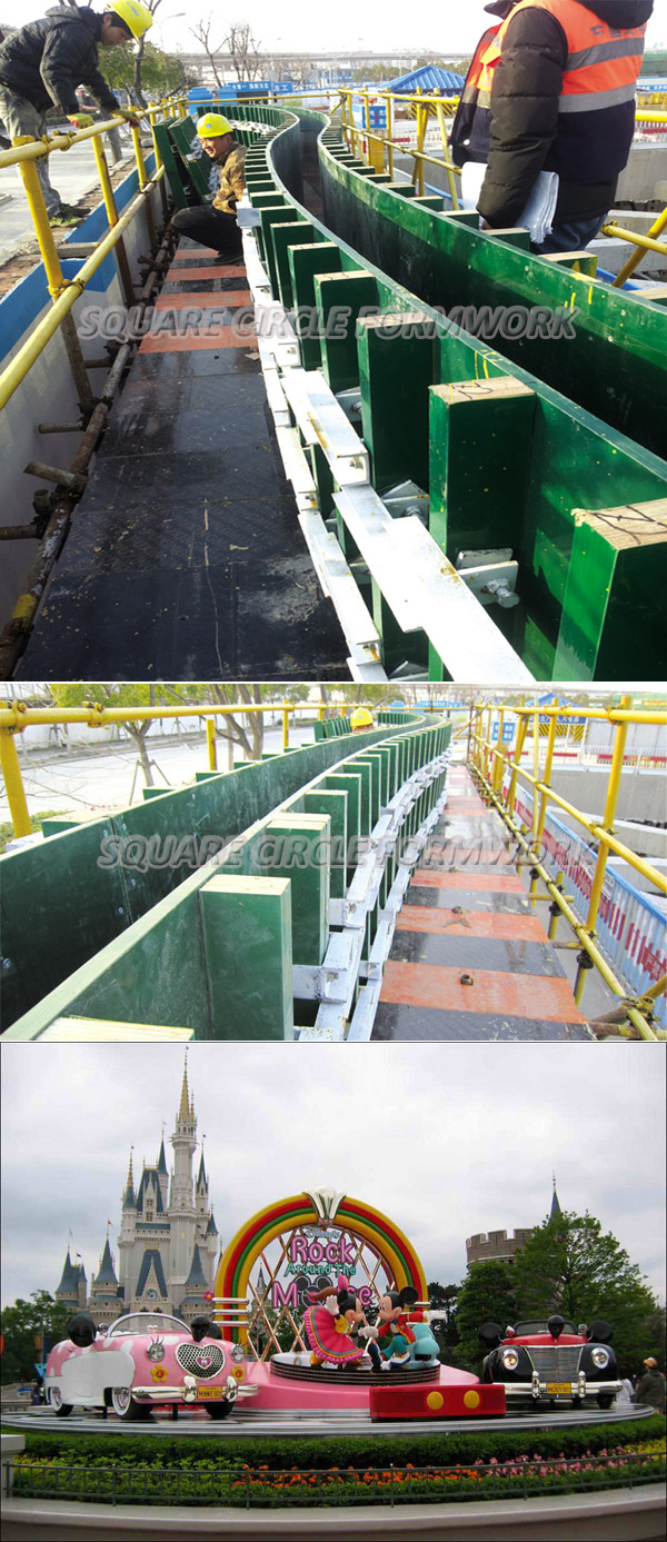 Adjustable Curved Wall Formwork System From China