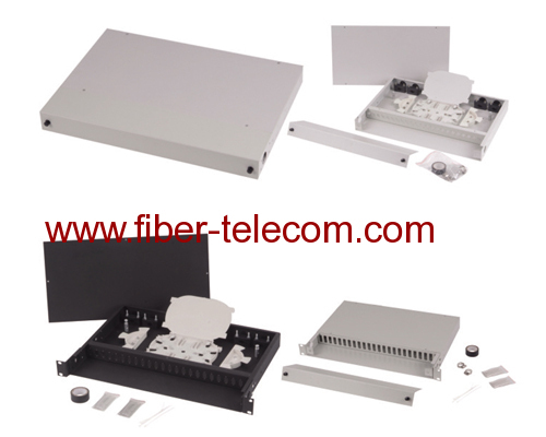 19 inch Rack Mounted fiber optic indoor Terminal Box
