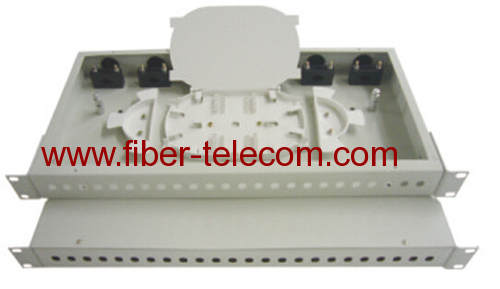 "19"" Rack Mounted fiber optic indoor terminal box"
