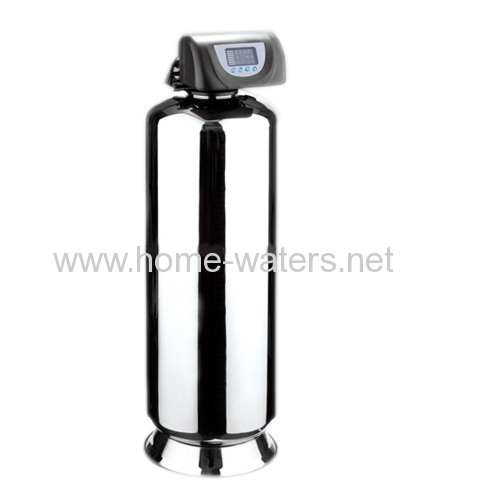 Fully automatic stainless steel water softener