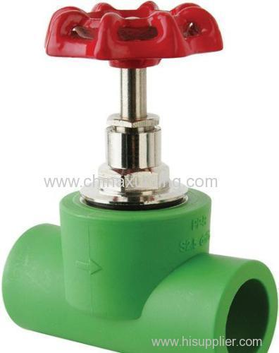 PPR Stop Valve Pipe Fitting With Pressure 2.5MPa