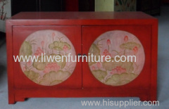 antique decoration drawing cabinet