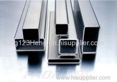 Aluminum row or Aluminum square tube