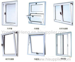 Aluminum row or Aluminum Windows