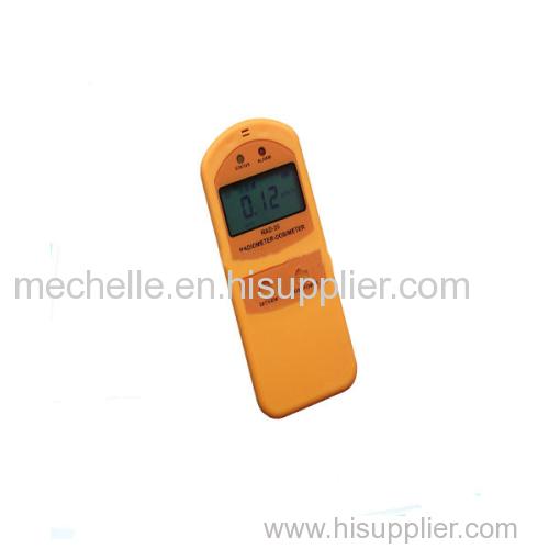 Portable Beta Gamma x ray radiation radiometer
