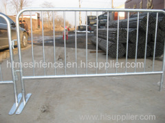 Factory Galvanized Steel Crowd Control Barrier