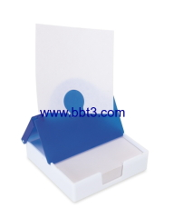 Promotional plastic memo holder with 150sheet notes