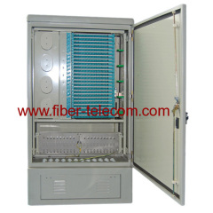 Outdoor Distribution Cabinet with 144cores