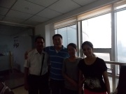 5th May customer visited our company