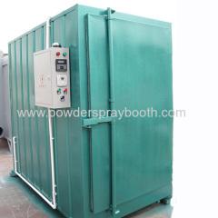 electrostatic powder coating oven