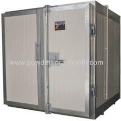Manual powder curing oven