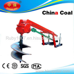 Shandong China Coal Tractor Post Hole Digger
