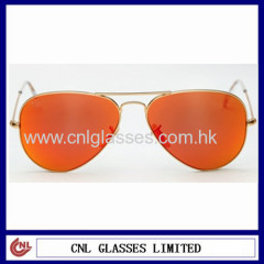 RAY-BAN Mirrored Polarized Sunglasses Classic Design Fashionable Pilot Sunglasses