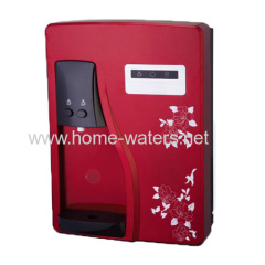 Wall mounted mini POU water purifier with cold water