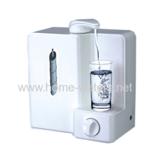 Mini two stage counter top water purifier