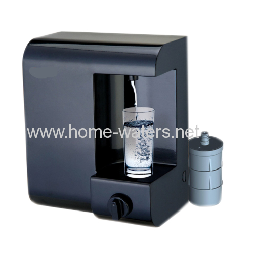 Mini counter top water filter purifiers