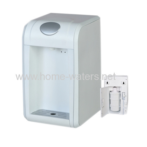 Mini two stage counter top water filter purifiers