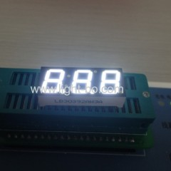 "3 digit 0.39"" white led display"