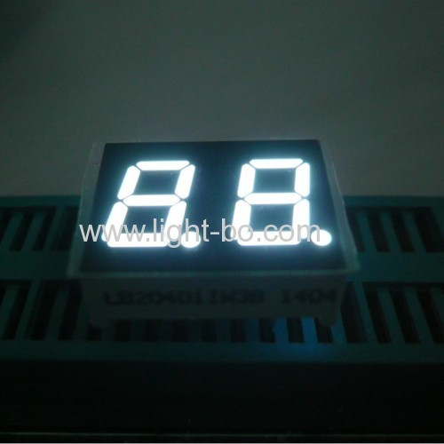 Ultra white 0.42-Digit 7-Segment LED Display for Home appliances