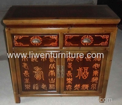 Chinese painted cabinet Ningbo