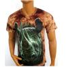2014 100% cotton 3D T-shirt/Custom Printed