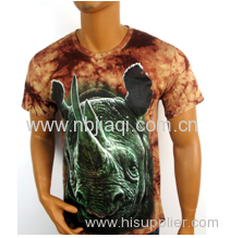Fashion 3D T-shirt 100% cotton T-shirt