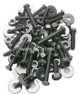 Mixed Metal Oxide Coated Titanium Threaded Rods and fasteners