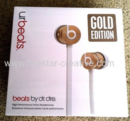 Beats by Dr. Dre urBeats Limited Edition New Gold with ControlTalk